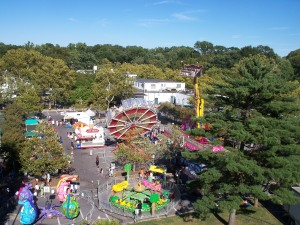 Aerial View of 2010 Greenbelt Labor Day Festival