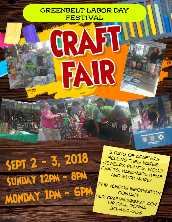 craft fair greenbelt labor day festival